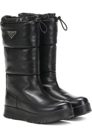 Prada Platform leather boots