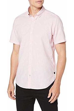 s.Oliver Men T-shirts - Men's 13.907.22.7652 Casual Shirt, ( 01k2)