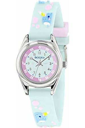 Tikkers Unisex Child Analogue Classic Quartz Watch with Silicone Strap TK0180