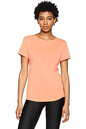 Under Armour Women's Swyft Short Sleeve T-Shirt, Burn/Reflective (877)