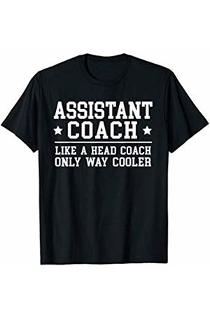 Assistant Coach Apparel and Tees Assistant Coach Funny Sports Coaching Gift T-Shirt