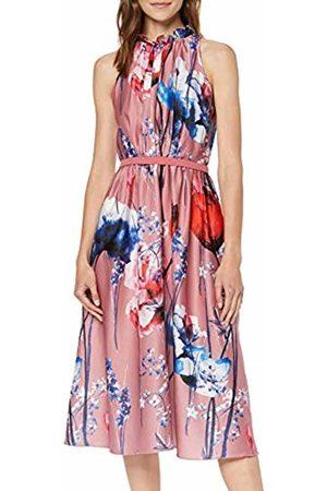 Little Mistress Women Printed Dresses - Women's Elva Floral-Print Satin Midi Dress Party