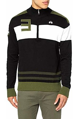 La Martina Men Sweatshirts - Men's Man Tricot Gg12 Half Opening Sweatshirt, ( 09999)