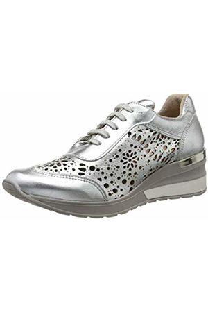 CUPLÉ Women's 103434-000-0000 Open Toe Heels, (Negro 0000)