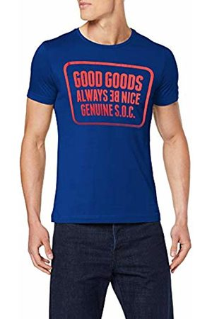 s.Oliver Men's 13.907.32.7664 T-Shirt, (Brilliant 5616)