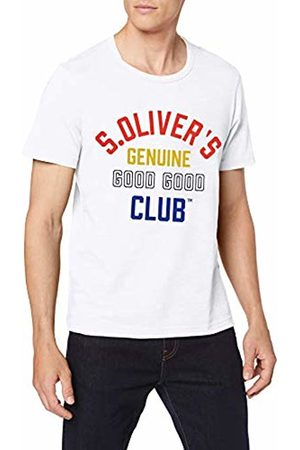 s.Oliver Men's 13.907.32.7665 T-Shirt, ( 0100)