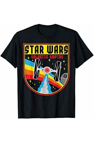 STAR WARS Tie Fighter Galactic Empire Badge Graphic T-Shirt