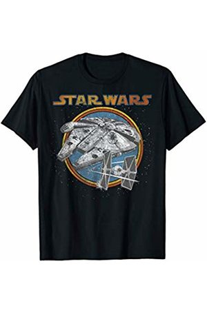 STAR WARS Falcon and TIE Fighters Graphic T-Shirt