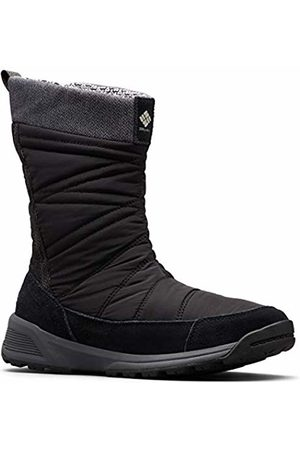 Columbia Women's Hiking Boots Waterproof, MEADOWS SLIP-ON OMNI-HEAT 3D, ( , Dark Stone)