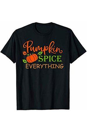 Hadley Designs Pumpkin Spice Everything Vintage Fall for Women Cute T-Shirt