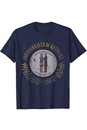 Tee Styley Kentucky State Flag Vintage Fade Gift T-Shirt