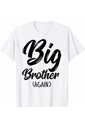 10bce4eca9b12 Big Bro Again Announcement Kids Boys Gift Big Brother Again T-Shirt