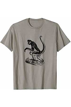 The New Antique Spider Monkey Print T-Shirt