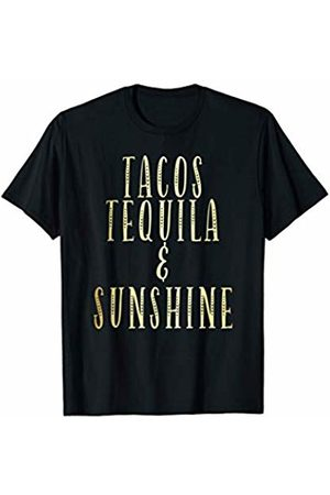Taco Lovers Apparel Shop Tacos Tequila and Sunshine - Funny Taco workout gym yoga T-Shirt