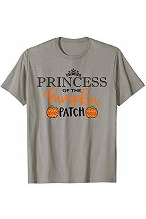Hadley Designs Princess of the Patch Pumpkin Fall Autumn for girls women T-Shirt
