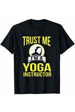 Cozy Yoga Tees Trust Me I'm A Yoga Instructor Fitness Teacher Gift T-Shirt