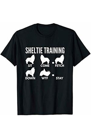 PedigreePrints Sheltie Training - Shetland Sheepdog Tricks T-Shirt