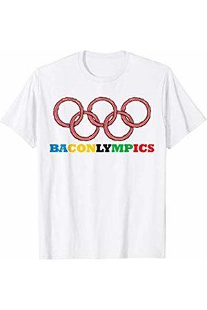 Miftees Baconlympics funny Bacon Athlete OR Bacon Sports T-Shirt