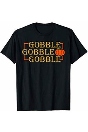Hadley Designs Gobble Gobble Funny Fall Thanksgiving Quote for Women Cute T-Shirt