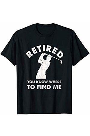 Funny Golf Tees Mens Retirement Golf T Shirt Retired Golfer Funny Retirement Gift T-Shirt
