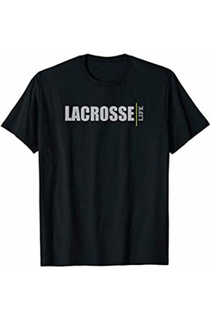 KCD GRAPHIX wearable art, text & graphics LACROSSE LIFE sport beginner amateur or pro T-Shirt