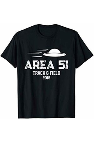 Area 51 Track and Field Shirts Area 51 Track and Field Running Gift T-Shirt