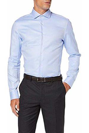 Seidensticker Men's Slim Fit Langarm mit Spread Kent-Kragen Bügelleicht Struktur-100% Baumwolle Formal Shirt, ( 12)