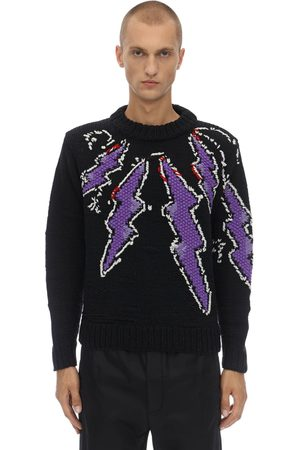 Prada Handmade Flash Shetland Sweater