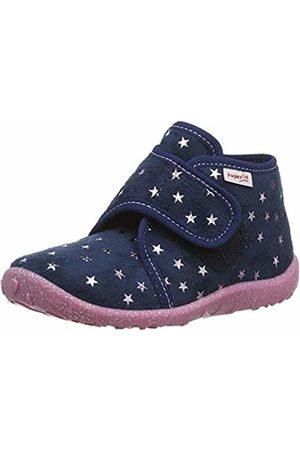 Superfit Girls' Spotty Hi-Top Slippers
