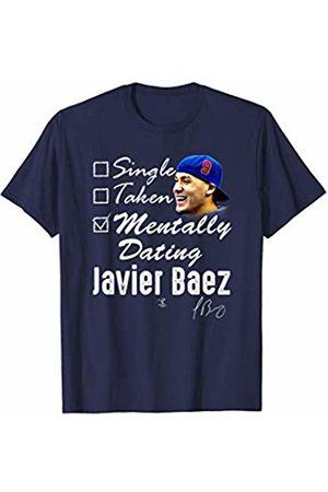 FanPrint Javier Baez Mentally Dating T-Shirt - Apparel