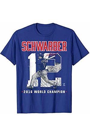 FanPrint Kyle Schwarber Player Number 2016 World Champion T-Shirt