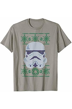 STAR WARS Stormtrooper Helmet Ugly Christmas Sweater T-Shirt