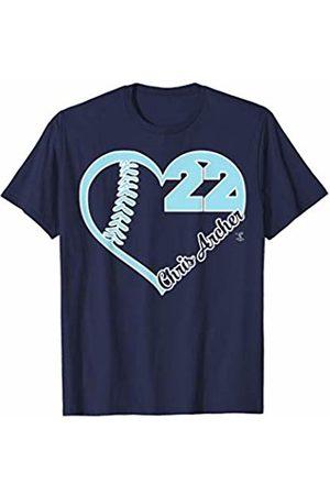FanPrint Chris Archer Heart Number T-Shirt - Apparel