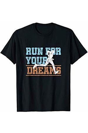 Cross Country Marathon Running Quote Tees & Gifts Marathon Runner Run For Your Dreams Motivational T-Shirt