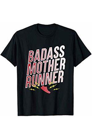 Best Running Shirts Mens Womens Badass Mother Runner T-Shirts