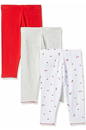 Mothercare Girl's 3Pk /Red Gry Marl Legging (Multi 1)