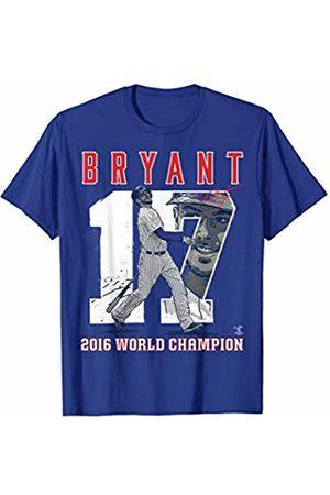 FanPrint Kris Bryant Player Number (2016 World Champion) T-Shirt