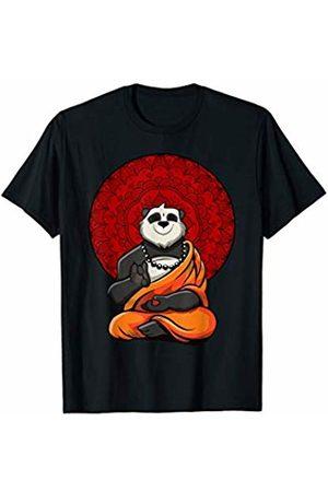 Panda Bear Buddha Yoga Zen Shirts Panda Bear Buddha Zen Yoga Meditation Women Kids T-Shirt