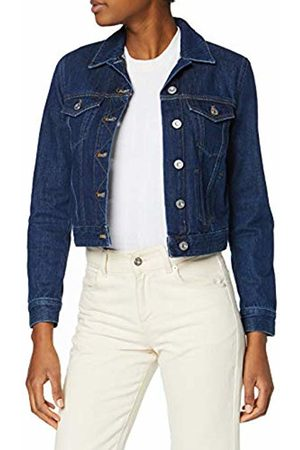 French Connection Women's Macee Denim Jacket, (MID 41)