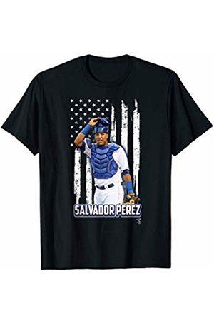 FanPrint Salvador Perez Nation Flag T-Shirt - Apparel