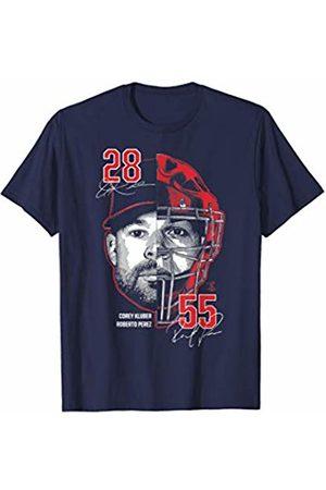 FanPrint Roberto Perez Two Faces - Corey Kluber T-Shirt - Apparel