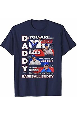 FanPrint Kris Bryant Daddy You Are My Baseball Buddy T-Shirt