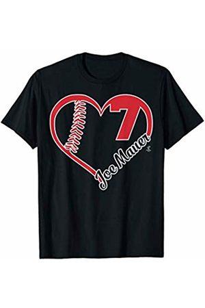 FanPrint Joe Mauer Heart Team T-Shirt - Apparel