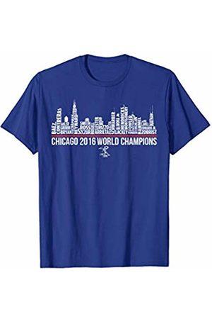 FanPrint Javier Baez Skyline T-Shirt - Apparel