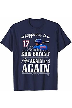 FanPrint Kris Bryant Happiness Is Watching Play Again & Again T-Shirt