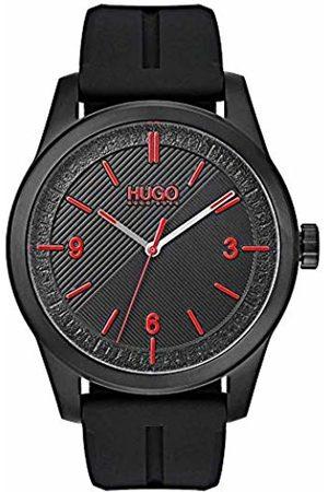 HUGO BOSS Mens Analogue Classic Quartz Watch with Silicone Strap 1530014