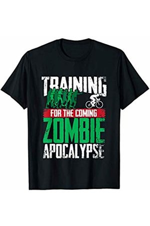 Bowes Cycling Training For The Zombie Apocalypse Cycling T-Shirt
