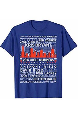 FanPrint Ben Zobrist Skyline T-Shirt - Apparel
