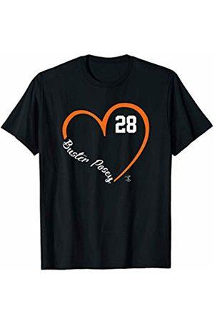FanPrint Buster Posey Heart Player Name T-Shirt - Apparel