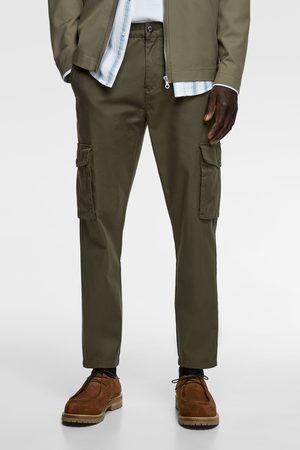 Zara Slim fit cargo trousers